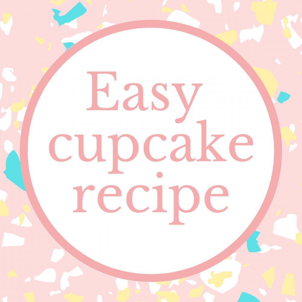 easy cupcake recipe logo Marie Makes