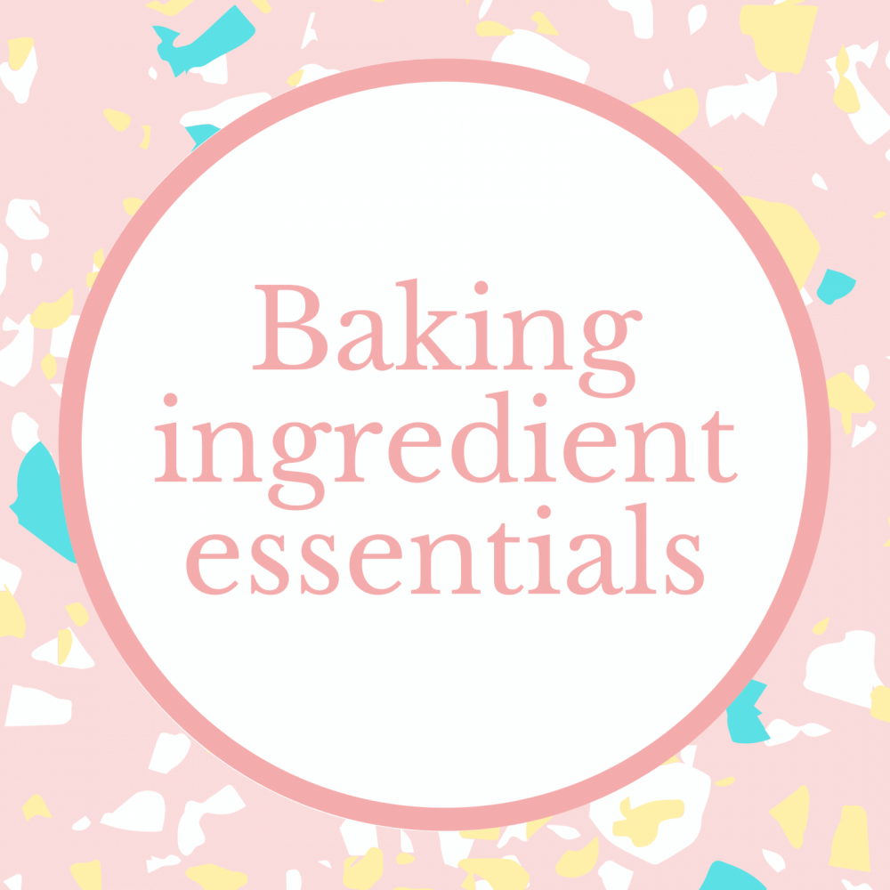Baking Ingredient Essentials Marie Makes Milton Keynes