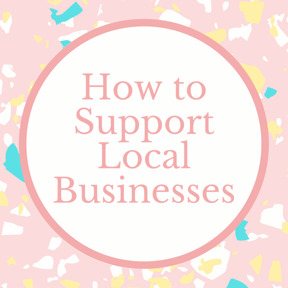 Marie Makes Blog Support Local Business