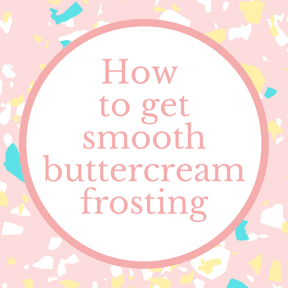 Marie Makes blog how to get smooth buttercream frosting